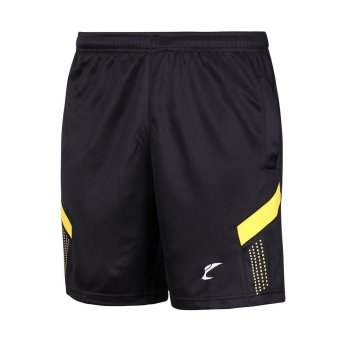 Young Men Functional Basketball Tennis Badminton Shorts YellowPrint Loose Style Short Pants Miosture Absorption Quick Dry Shorts- intl