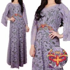 Yuki Fashion Kaftan Savana 2 - Ungu - Best Seller