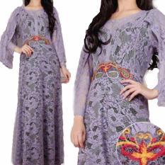 Yuki Fashion Kaftan Shilvia 2 - Ungu - Best Seller
