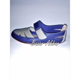 Yutaka flat shoes biru-cream