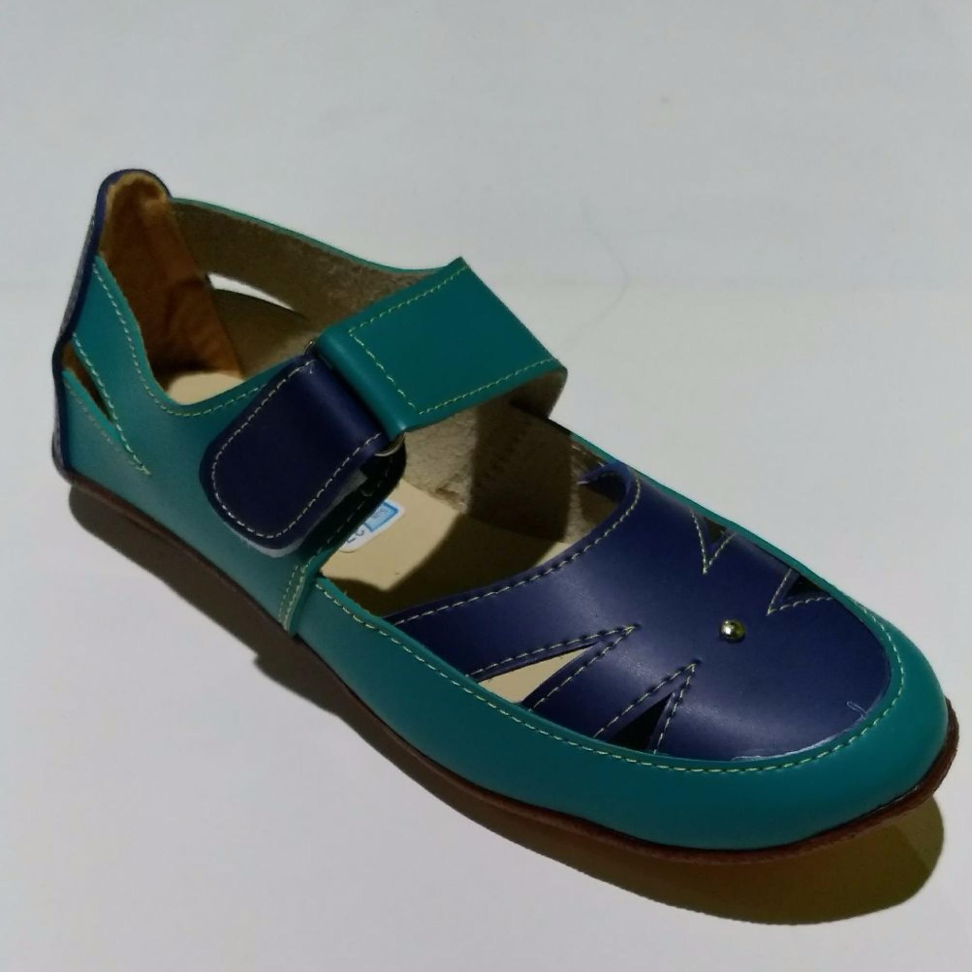 Flash Sale Yutaka Flat Shoes Biru Tosca