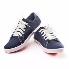 Yutaka Sepatu Kets Sneakers Navy