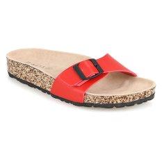 Zada Alika Birken Sandal - Merah