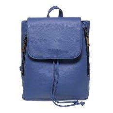 Zada Foldover Flap Backpack - Blue