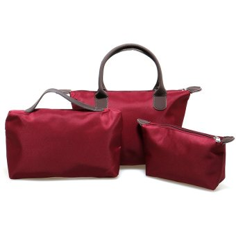 Zada Set 3 in 1 Shoulder Bag - Maroon