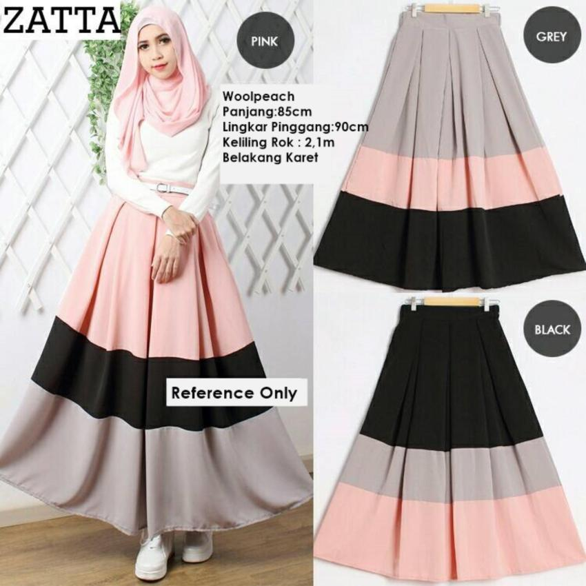 Zatta Skirt Warna Pink