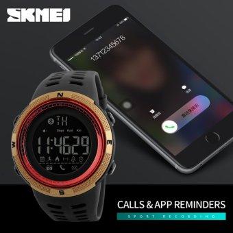 [100% Genuine]2017 NEW Men's Smart Sport Watch New SKMEI Brand Bluetooth Calorie