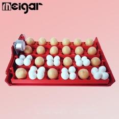12 Telur Ayam Turner untuk Otomatis Bebek Burung Puyuh Unggas Inkubator Telur Baki Merah-Intl