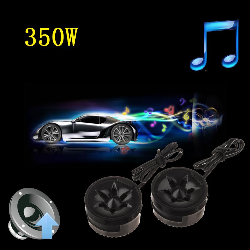 ... 2 buah universal efisiensi tinggi 2 x 350 watt mobil mini dome Tweeter keras pembicara audio
