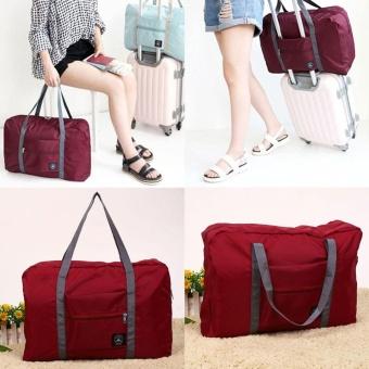 2017 new style Foldable Nylon Travel Luggage Storage Hand Shoulder Carry Bag Organizer - intl