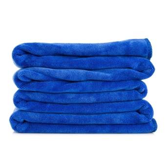 ... 2Pcs Premium Car Drying Towel 300mm*700mm,Blue - intl - 5