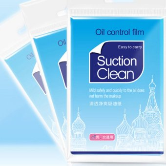 2x pack Clean and Clear Oil absorbing sheets Oil Control FilmBlotting Paper - intl