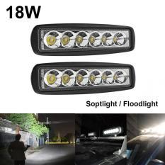 LED Lampu Tembak Sorot Worklight Cree Led Spot 6 Mata 18 Watt - KuningIDR300000. Rp
