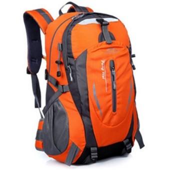 35 liter ransel untuk hiking dan berkemah luar ruangan (Jeruk)