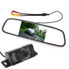 4,3 inci 480 x 272 TFT-LCD belakang mobil spion Monitor + 7