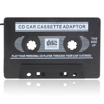Adaptor Cakram Digital Audio Mobil kaset rekaman untuk iPod/MP3/CD player (Hitam