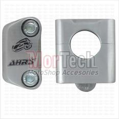 AHRS Raiser - Dudukan - Peninggi Stang - Stir - Setang Fatbar Ninja Z 250 28 mm Panjang Silver
