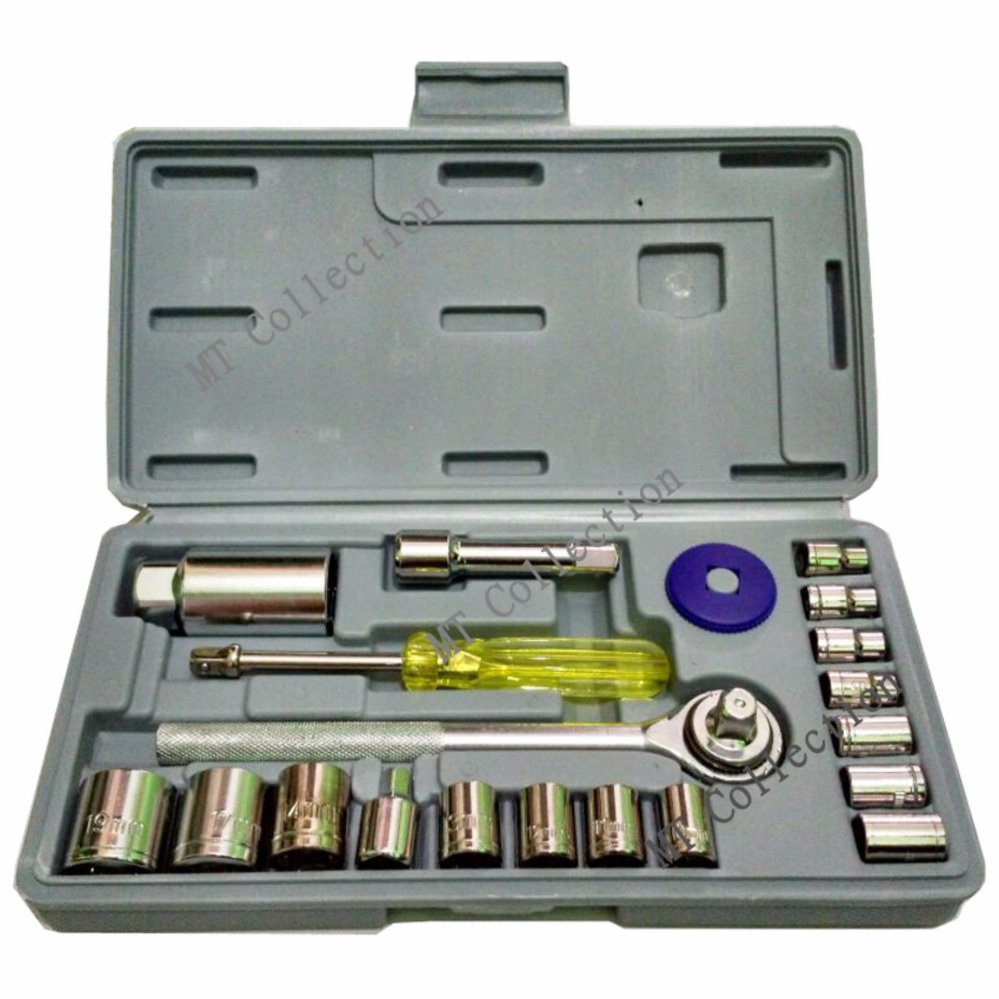 AKA R-021S - Kunci Shock Wrench Set 21 PCS Serbaguna