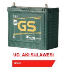Aki Accu Baterai Kering Mobil GS MF NS60L - 46B24L