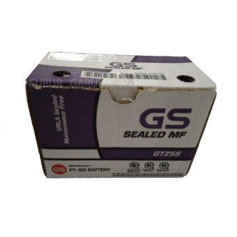 Aki GS Astra GTZ5S ORIGINAL 12 V 3 SETENGAH Amphere tipe kering SUPRA X 125 VARIO