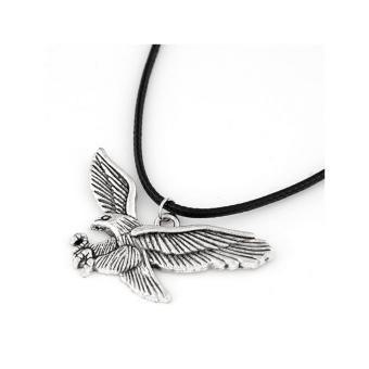 Aksesoris Kalung Metal Leather - RKL6776