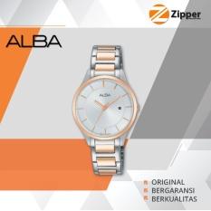 Alba Fashion Analog Jam Tangan Wanita - Tali Stainless Steel - AH7L10X1