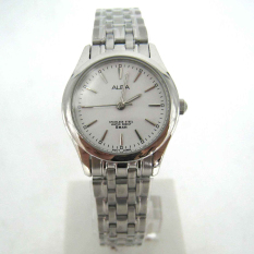 Alba - Jam Tangan Wanita - Silver-Putih - Stainless Steel - ARSY33X1