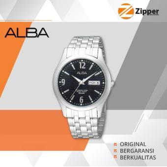 Alba Prestige Analog Jam Tangan - Tali Stainless Steel - AXND61X1