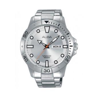 ALBA T2043X1 Quartz Silver Dial| Jam Tangan Pria AT2043