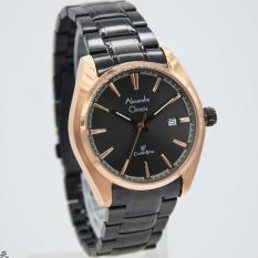 Alexandre Christie AC-8500MD Strap Stainless Steel Black Rose Gold