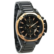 Alexandre Christie AC6225 MC Jam Tangan Pria Strap Stainles Steel  rosegold