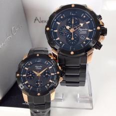 Rp 2350000 Alexandre Christie AC6410MCP Jam Tangan Couple Stainless Steel Hitam Rose GoldIDR2350000