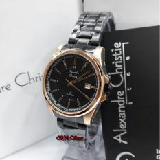 Alexandre Christie AC8502 Original - Jam Tangan Wanita - Stainless Steel