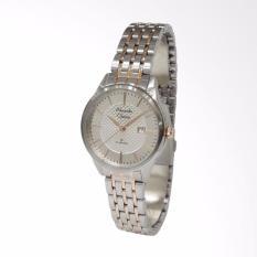 Alexandre Christie Classic Steel 8453 Jam Tangan wanita - Silver Rose gold