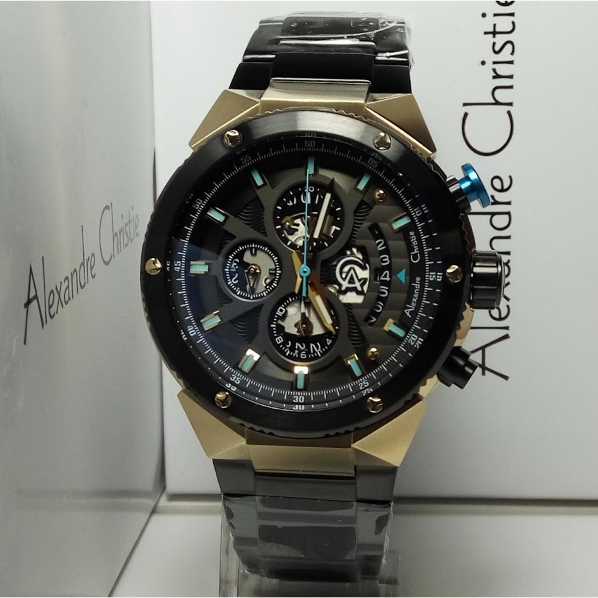 Pria Gt Jam Tangan Analog Tissot Trace Casio Edifice Eqb 500dc 1adr Stainless Steel Black Alexandre Christie Ac6461mc Chronograph Gold