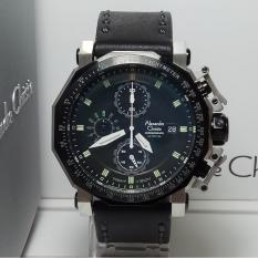 Rp 2257500 Alexandre Christie Jam Tangan Pria AC9213NMC Chronograph Night Vision Leather BlackIDR2257500