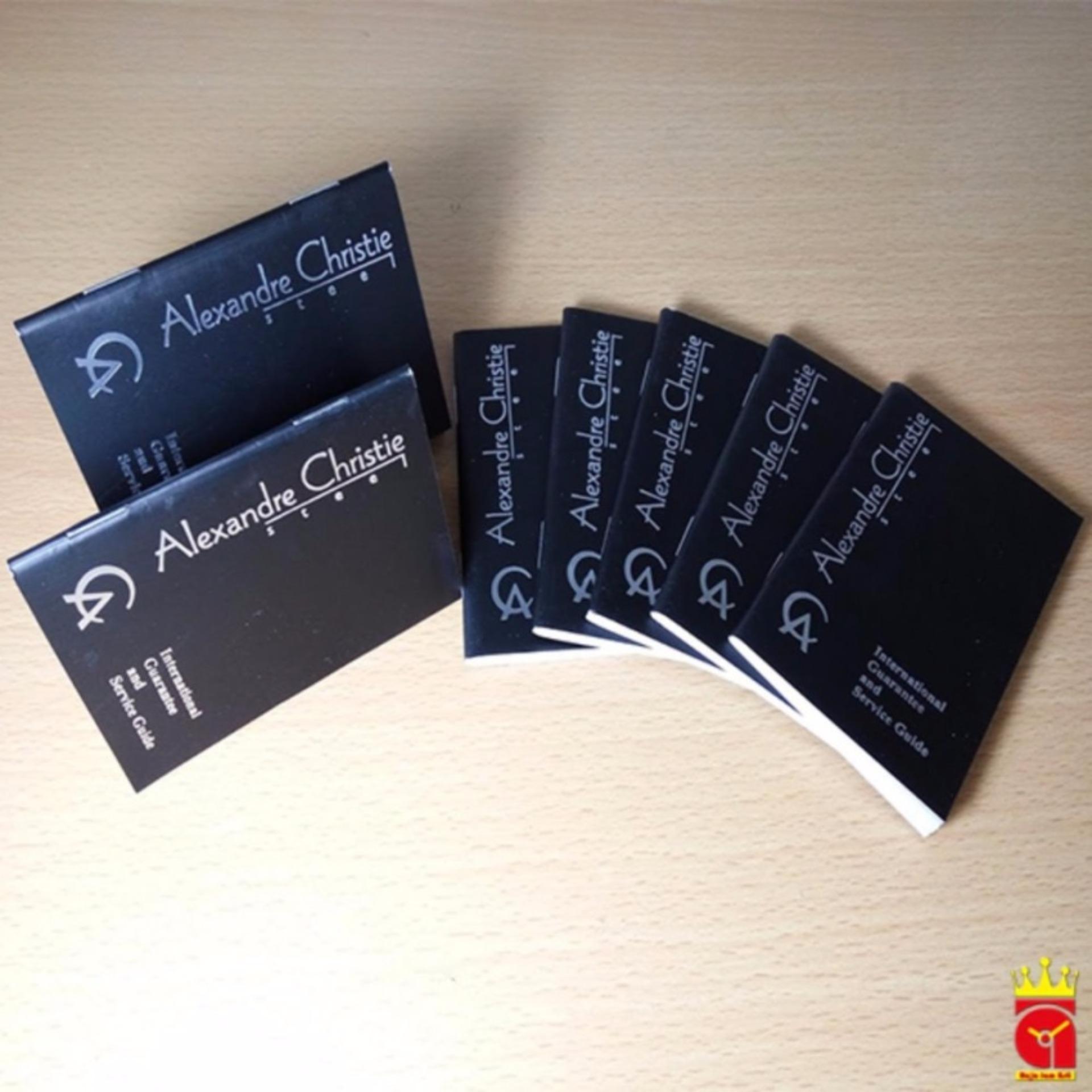 Alexandre Christie Woman Tranquility Jam Tangan Wanita Black Ac2510 Rosegold