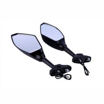 harga Allwin Universal Hitam LED Lampu Sein Kaca Spion Untuk Motor MobilSport Lazada.co.id
