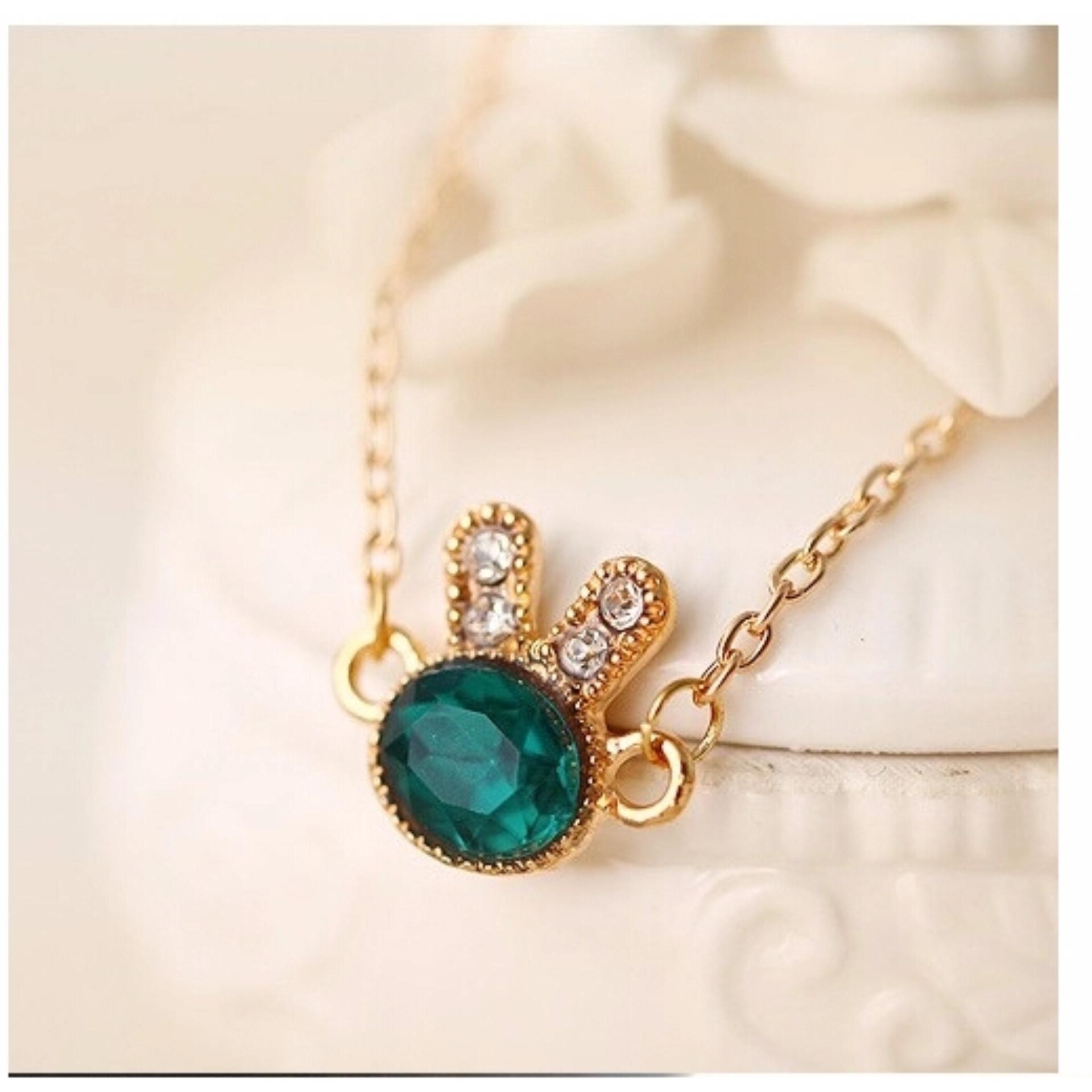 ... Amefurashi Gelang Kelinci Cutie Green Rabbit Ear Bracelet ...
