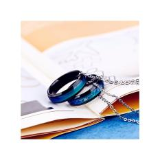 Amefurashi Mood Ring Couple Titanium Love ECG