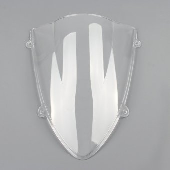 Areyourshop Windshield WindScreen Double Bubble Kawasaki Ninja 250250R EX250 08-12 White - intl