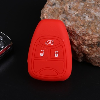Aukey NEW 13Colors 3 Buttons Car Remote Key Case Shell For Jeep Wrangler Decoration - intl ...