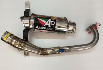 Austin Racing Knalpot Gp2R Titanium Can Full Systems Made inThailand for NMAX