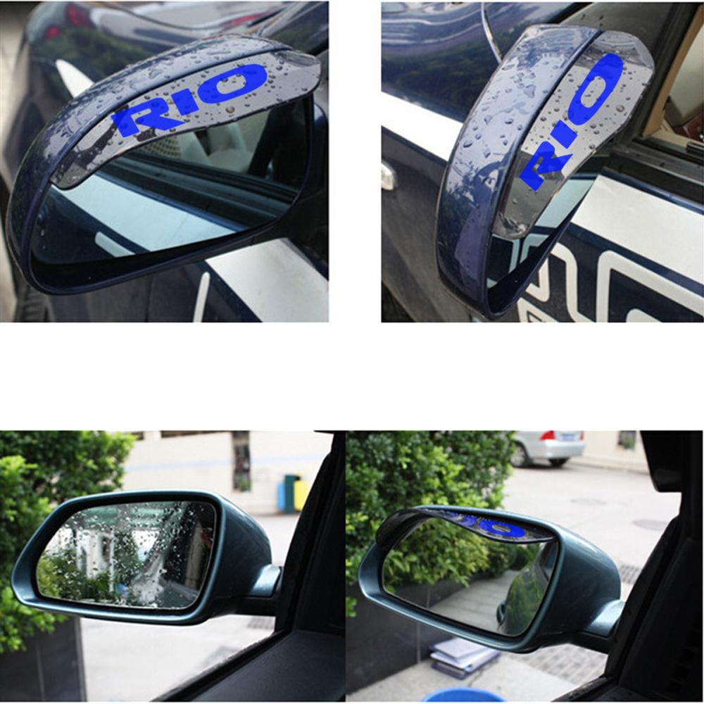 For Suzuki Ignis Kizashi Rearview Mirror Rain Eyebrow Flap Shield Car Rear Guard Mika Pelindung Spion Mobil Dari Hujan Auto Shade Rainproof Back Rainsticker Sun Visor