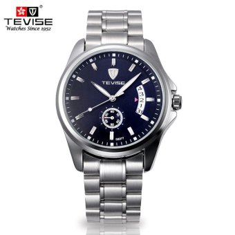 Automatic Mechanical Watches for Men's Retro Waterproof Business Black Dial - intl