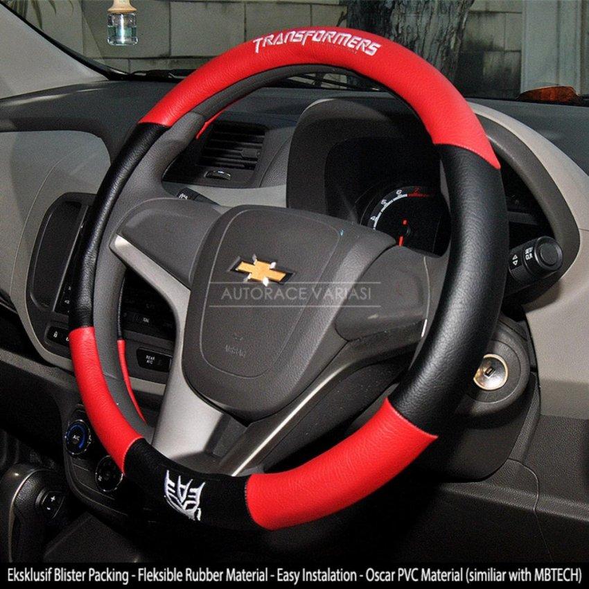 AUTORACE Cover Stir / Sarung Stir Mobil 104 Tranformrs - Merah