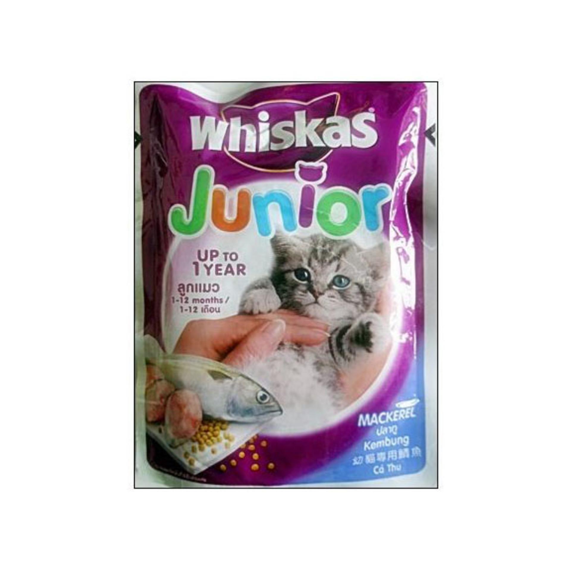 AZR Whiskas Sachet 85gr Makanan Kucing