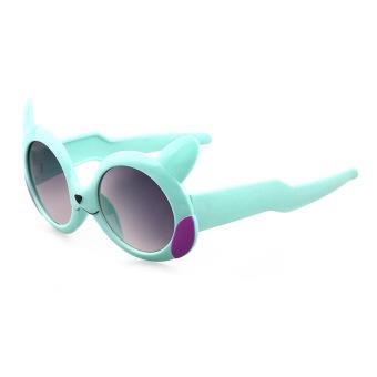 Baobao kartun UV anak kaca mata kacamata hitam untuk anak-anak