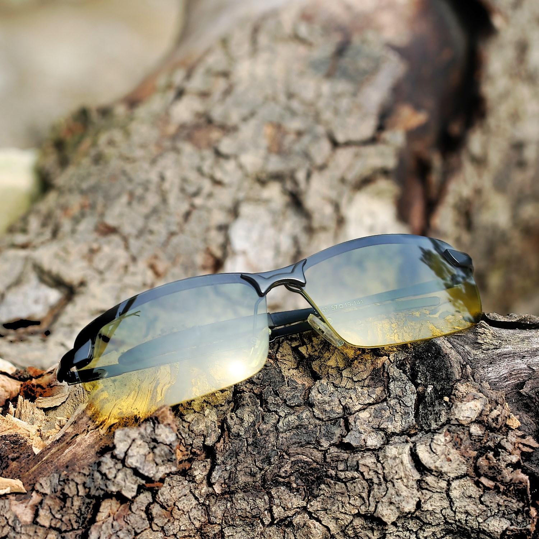 Baru pria kacamata hitam Sunglasses mengemudi cermin terpolarisasi cermin