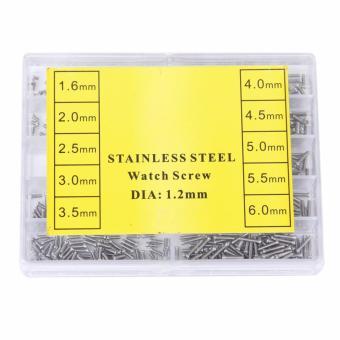 Baut Mini Jam Atau Kacamata - Stainless Steel Screw - Diameter 1.2mm